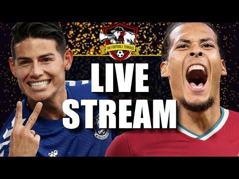 Everton 2-2 Liverpool   English Premier League Live