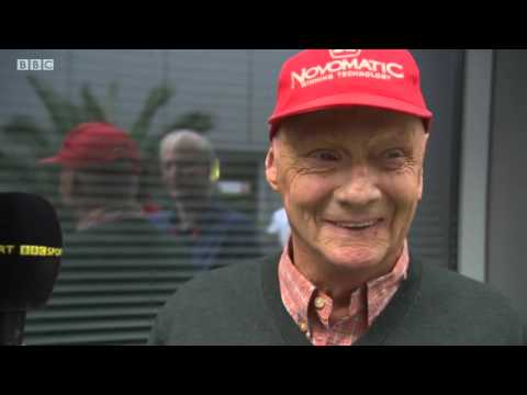 2015 Russia - Post-Race: Niki Lauda
