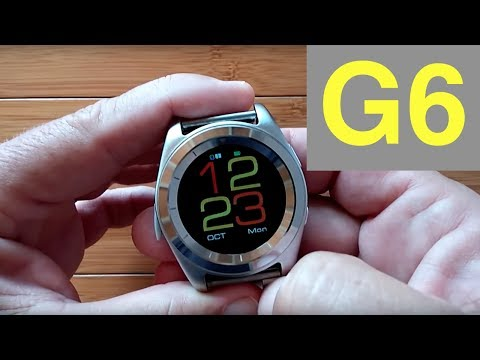 No.1 G6 Sports/Business Smartwatch: Unboxing and Review
