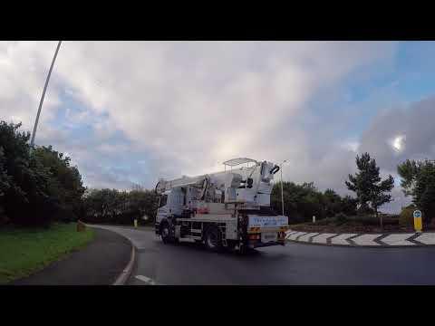 Isle of Man Road to Castletown, Gopro / Ile de Man Route vers Castletown, Gopro