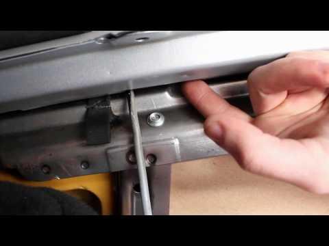 Как снять задние сиденья на приоре седан