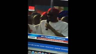 buhari s slurred speech