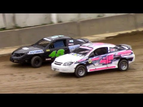 Mini Stock Heat Two | Old Bradford Speedway | 9-8-18