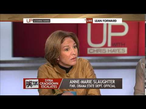 Jeremy Scahill on MSNBC debating Ann-Marie Slaughter over Syria