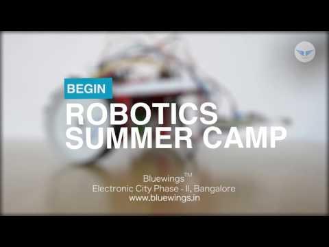 Bluewings ™ Robotics Summer Camp Offering