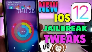 NEW IOS 12 - 12.1.1 - 12.1.2 Jailbreak Tweaks: Best Unc0ver Cydia Tweaks!