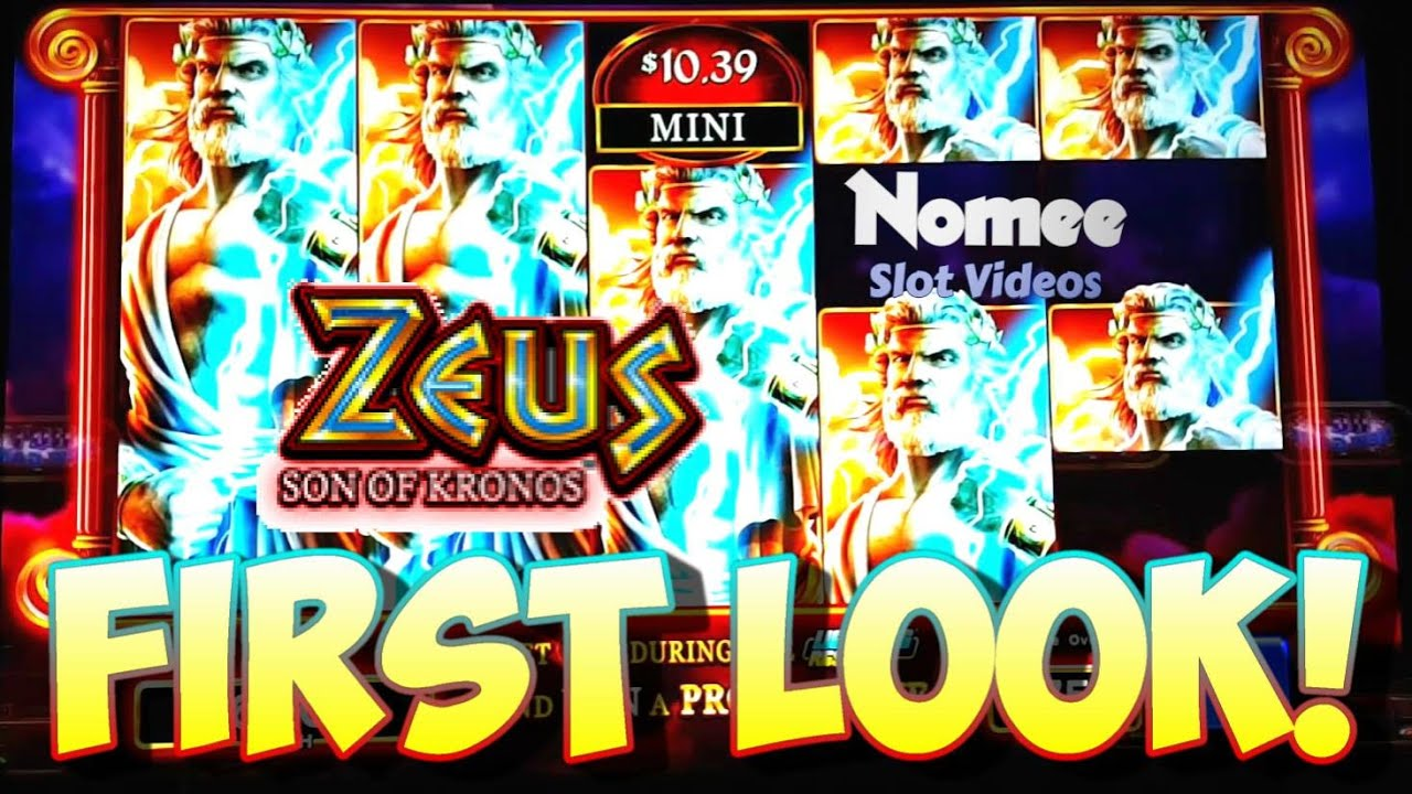 First Look Zeus Son Of Kronos Slot Machine Bonuses