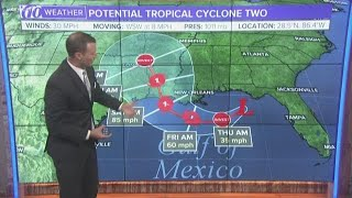 Potential Tropical Cyclone Two: Hurricane expected to form by Friday