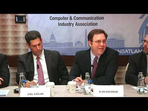 CCIA   The Transatlantic Internet Policy Dialogue   2016   Part 2