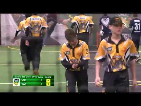 2016 Indoor Juniors - 13&U Boys Grand Final (VIC v WA)