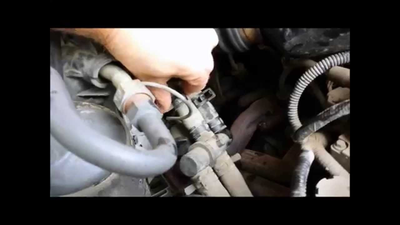 2002 ford explorer engine diagram 4 pin cfl wiring 1996 ranger heater core flush - youtube