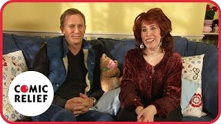 Daniel Craig and Elaine Figgis | Comic Relief