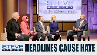 Fear Over Faith: Muslims are Portrayed as High-Jackers & Terrorists || STEVE HARVEY