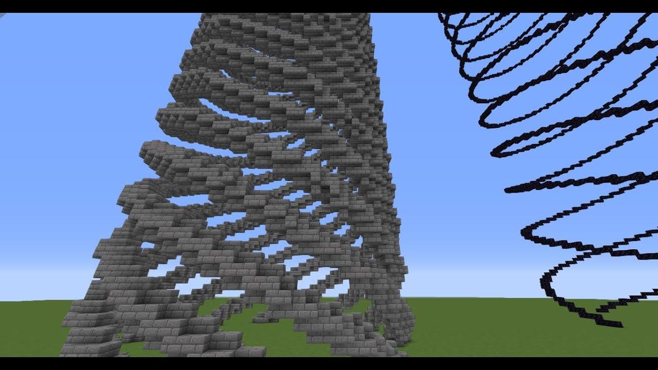 Spiral Generator - Creative Mode - Minecraft: Java Edition