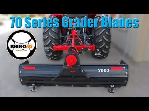 Rhinoag 70 Series Xhd Rear Grader Blade For Compact