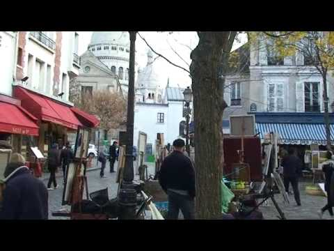 Walking tour of Montmartre, Paris