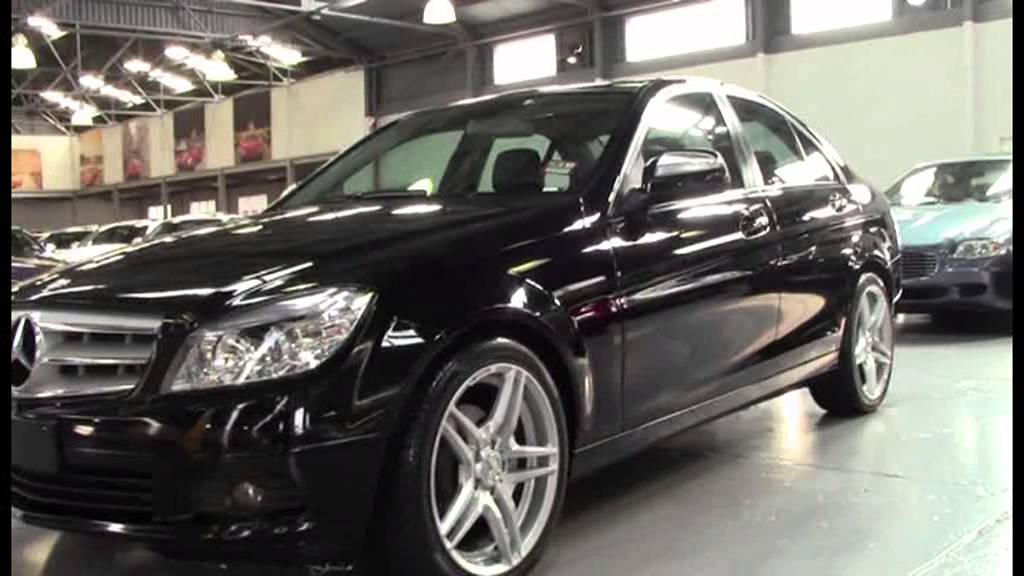 Mercedes Benz C200 Kompressor Black 2008 1008855 Youtube