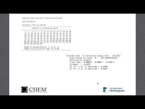 "Q-Chem Webinar 13: ""Studying X-ray Absorption Spectroscopy With Q-Chem"""