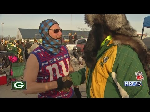 Thumbnail: Fans Brave the Cold to Watch Packers Beat Giants