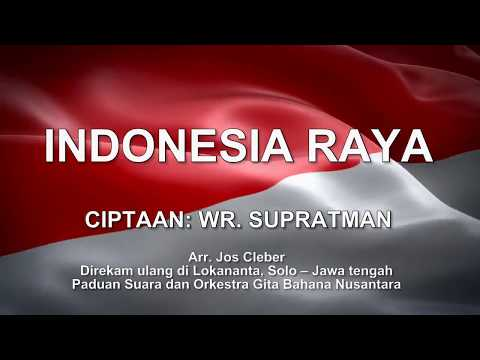 Indonesia Raya Minus One With Intro And Text, No Copyright, Video Backgrounds, Animations