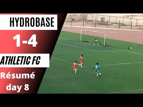 Championnat Régional / Résumé match (HYDROBASE FC  Vs ATHLETIC FC )[1_4] 8ème journée