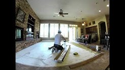 Hardwood Flooring Install Phoenix 1 Hour Install in 30 seconds