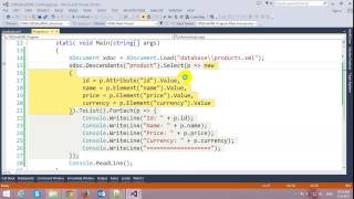 In this video, I will demo how to Read XML using LINQ in C# =======...