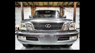 Lexus LX470 Build Intro