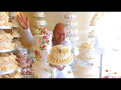 CAKE DECORATING ROYAL ICING FOR BEGINNERS MASTER CLASS OVERVIEW - DAVID CAKES TV SHOWREEL