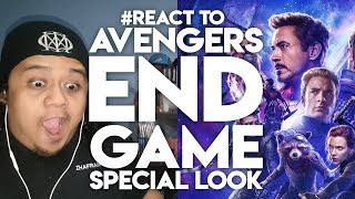 #React to AVENGERS ENDGAME Special Look Malaysian Reactions
