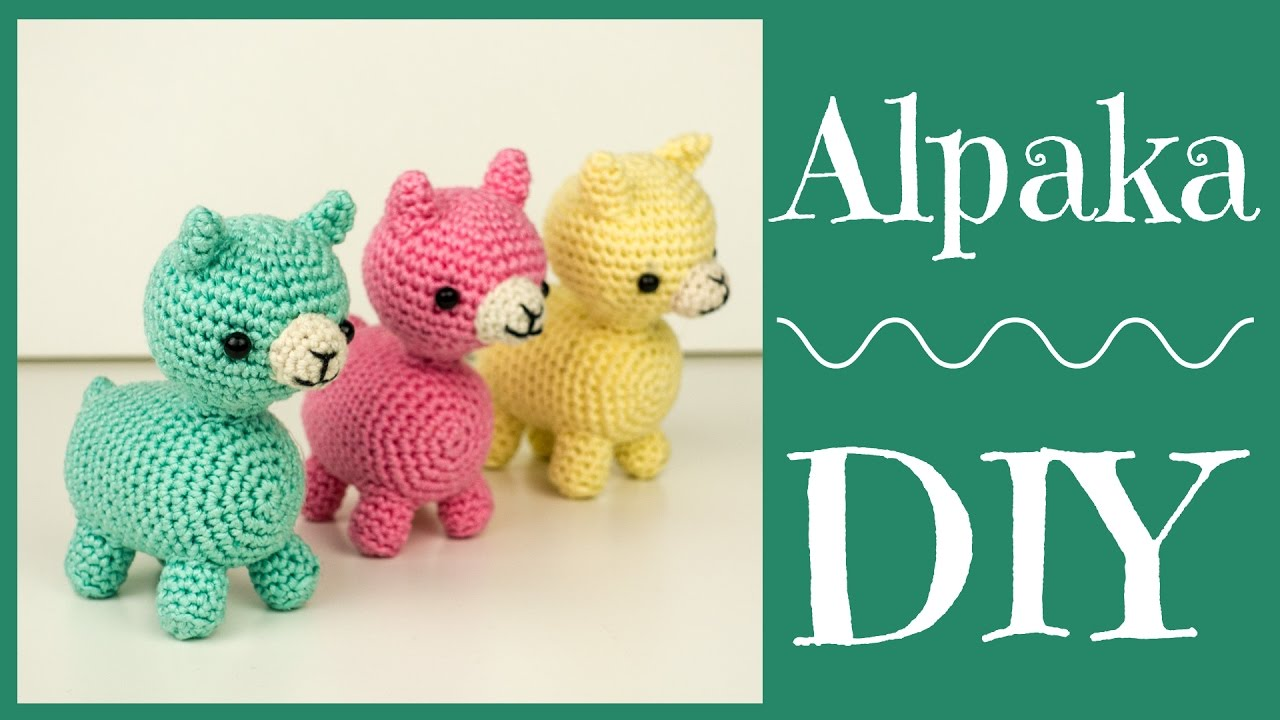 Alpaka Häkeln Do It Yourself Amigurumi Youtube