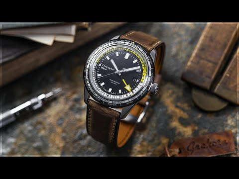 Hands On With The Christopher Ward C65 Trident GMT Worldtimer | WatchGecko Review