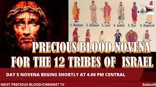 PRECIOUS BLOOD: July Novena For The 12 Tribes Of Israel- Day 5