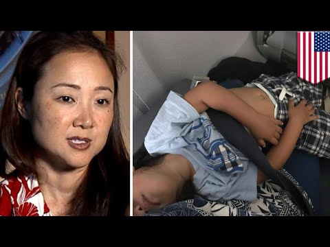 United Airlines forces mom to hold son for entire flight after airline resells paid seat - TomoNews