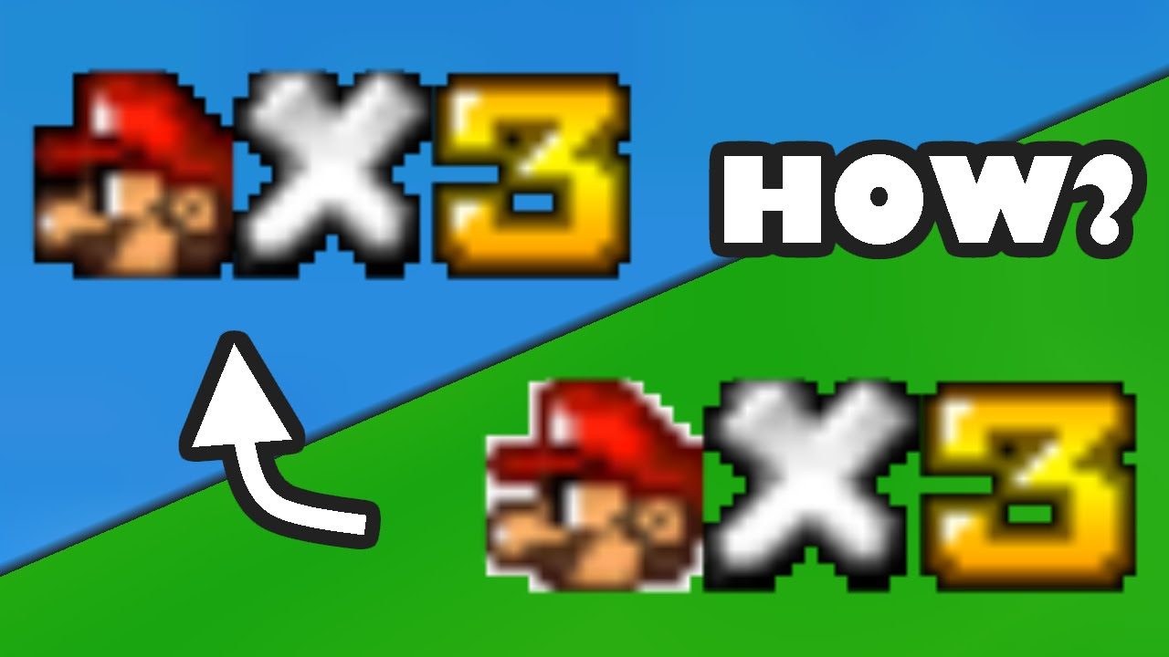 Sm64 Tutorials How To Get Rid Of The White Outline Of The Hud Icons Youtube