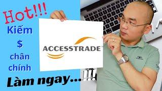 Tạo Tài Khoản Accesstrade 2020 Mới Nhất Để Kiếm Tiền Affiliate