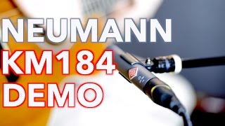 Neumann KM184 Stereo Acoustic Guitar Demo