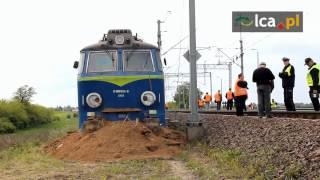 Przed Legnicą wykoleił się pociąg