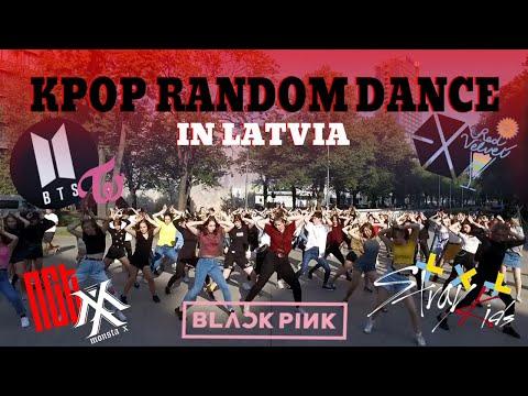 KPOP RANDOM PLAY DANCE IN PUBLIC CHALLENGE / Latvia