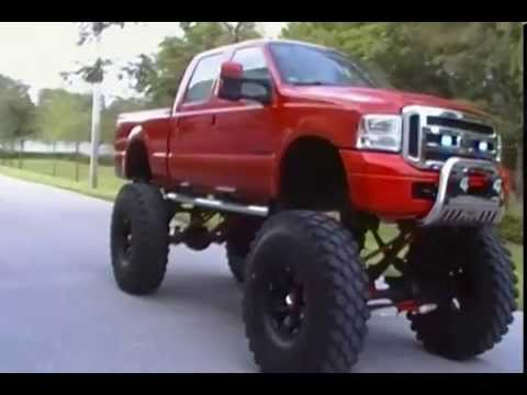 1999 Ford F 250 4x4 Lifted Monster Truck For Sale 954