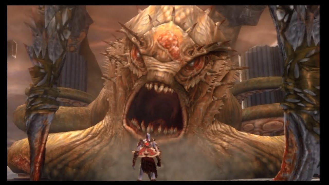 God of War 2 - Titan Mode #19, The Kraken - YouTube