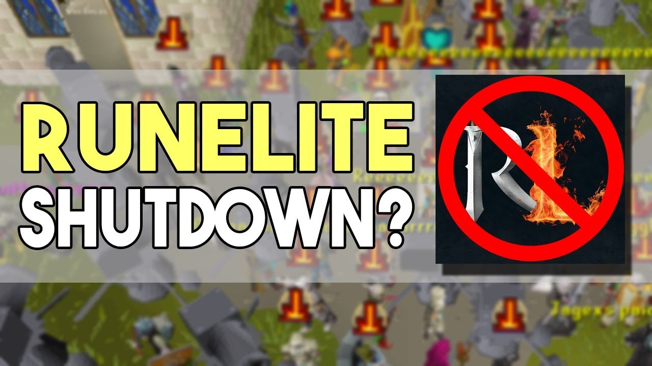 Jagex is Shutting Down RuneLite! Is this the End for 3rd Party Clients?  [OSRS]