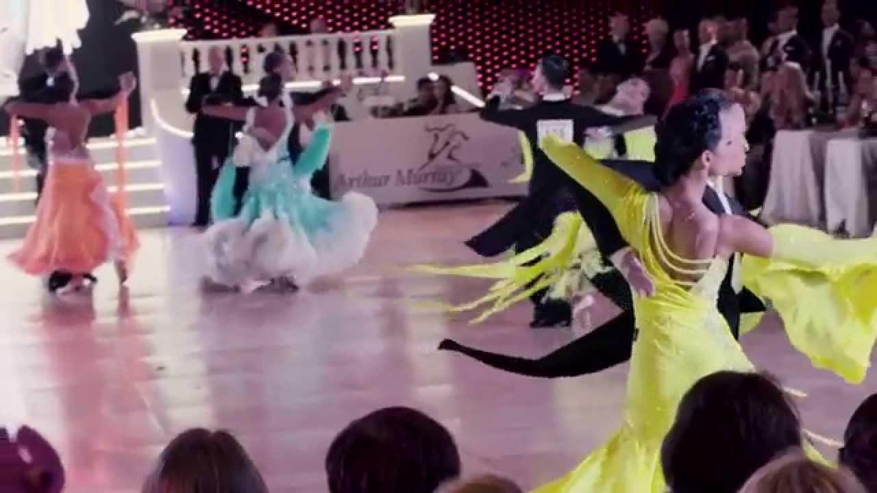 2015 World Professional Ten Dance - Ballroom in Slow Motion