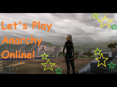 Let's Play Anarchy Online AKA New Player Area & Graphics