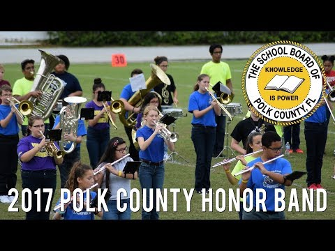 Polk County Middle School Honor Band - Opening Performance @ MPA 2017 [HD]
