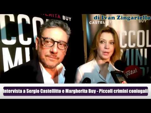 Intervista a Sergio Castellitto e Margherita Buy, al cinema con \