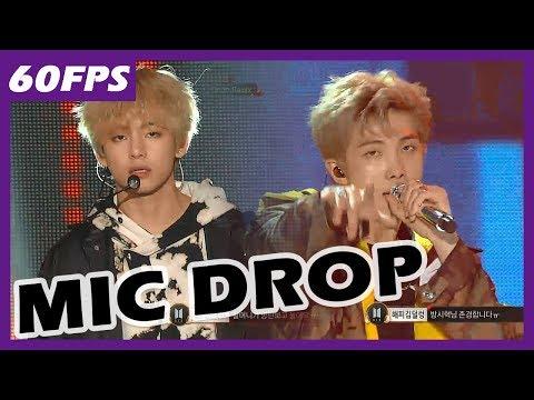 60FPS 1080P | BTS - Mic Drop, 방탄소년단 - Mic Drop @MBC Music Festival 20171231