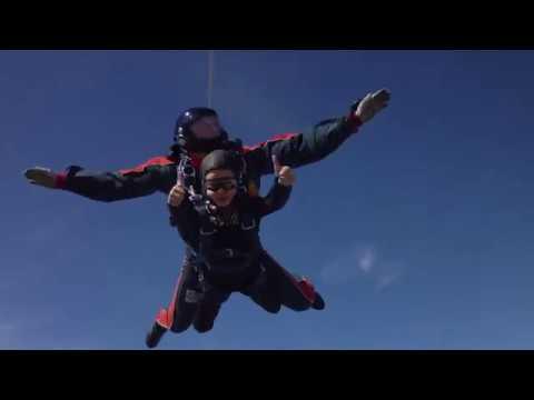 Тандем прыжок. Дочери 10 лет, аэродром Сосновка, Пенза