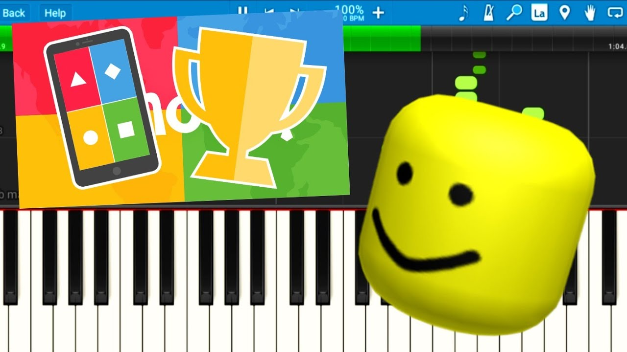 Kahoot Theme Song But It's Roblox Death Sound!!