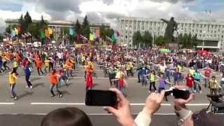 Флешмоб в Кемерове 12 июня 2013 г.
